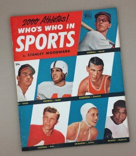 19512000 Athletes WHO's WHO IN SPORTS Magazine by Stanley Woodward