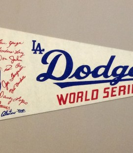 Los Angeles Dodgers 1974 World Series Pennant