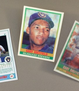 1989 Milwaukee Brewers Gary Sheffield Rookie Card (SportFlics)