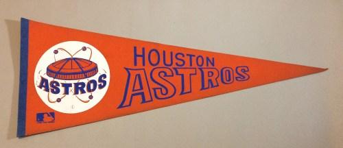 Houston Astros 1970s Team Pennant