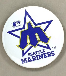 Seattle Mariners Team Button