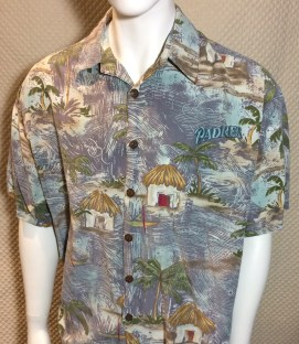 San Diego Padres Gray Hawaiian Shirt