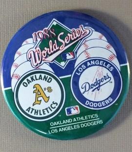 World Series 1988 Button