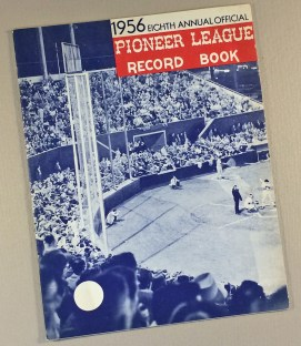 Pioneer League 1956 Record Book