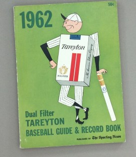 Sporting News Baseball Guide & Record Book 1962