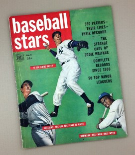 1950DELL BASEBALL STARS Magazine