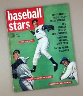 1950DELL BASEBALL STARS Magazine
