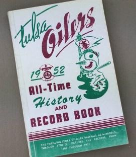 Tulsa Oilers 1952 Record Book