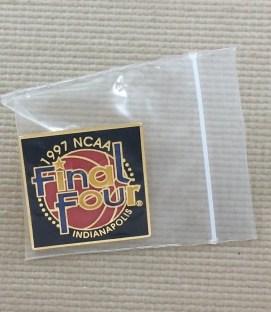 1997 Final Four Pin