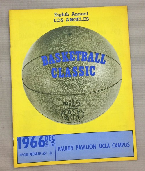 Los Angeles Basketball Classic 1966 Program