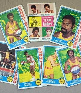 1974-75 San Diego Conquistadors Collectors Card Set