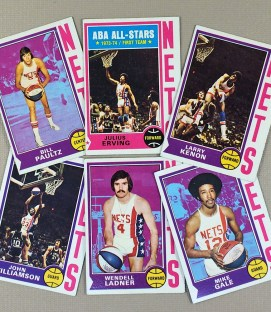 1974-75 New York Nets Collectors Card Set