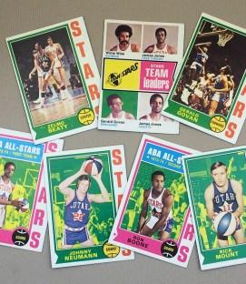 1974-75 Utah Stars Collectors Card Set