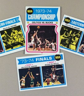 Topps NBA 1973-74 Playoff Collectors Card Set