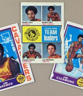 1974-75 Cleveland Cavaliers Collectors Card Set