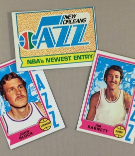 1974-75 New Orleans Jazz Collectors Card Set