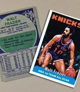 1976 New York Knicks Walt Frazier Collectors Card