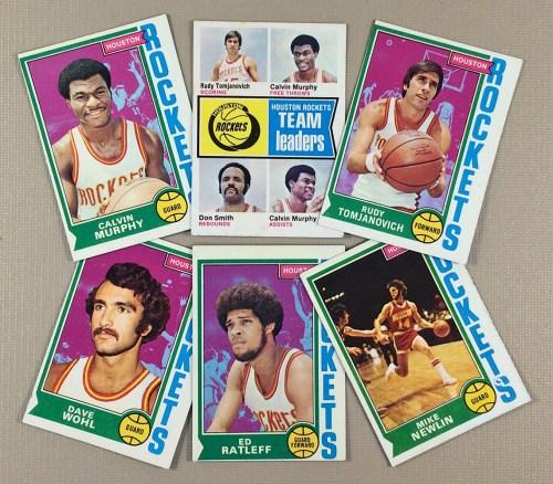 1974-75 Houston Rockets Collectors Card Set
