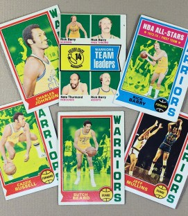 1974-75 Golden State Warriors Collectors Card Set