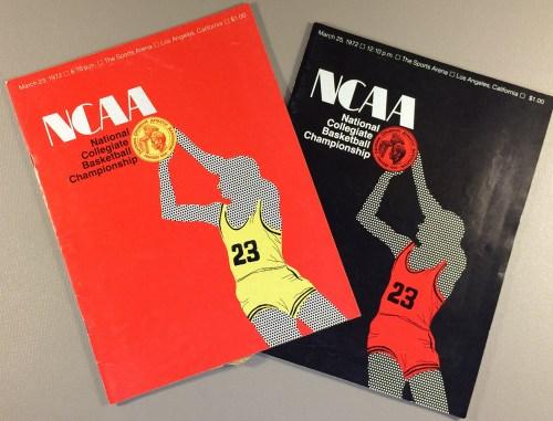 1972 NCAA Final Four Basketball Programs