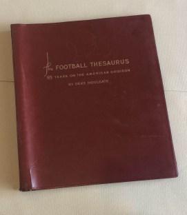 NCAA Football Thesaurus