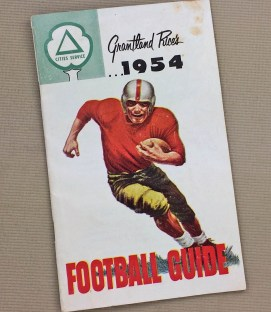 Grantland Rice's 1954 Football Guide
