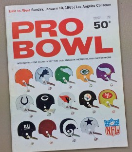 1965 Pro Bowl Program