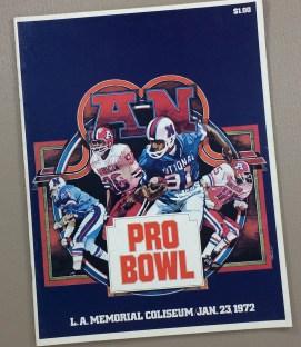 1972 Pro Bowl Program