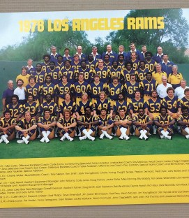 Los Angeles Rams 1978 Team Photo