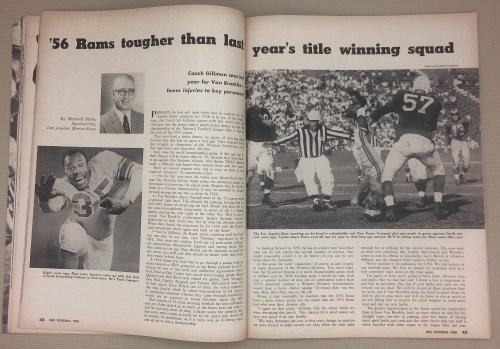 '56 Rams tougher than last year