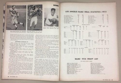 Rams Tom Fears, Sid Gillman
