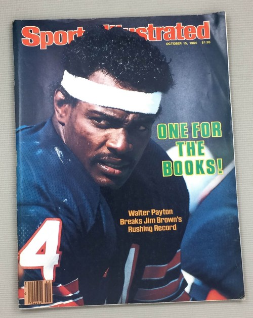 Sports Illustrated Walter Payton Issue