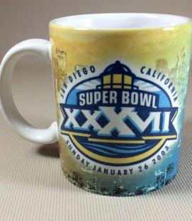 SUPER BOWL XXXVII (2003) Collectors Mug