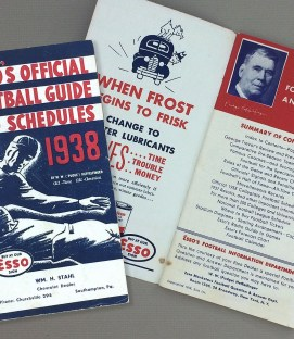 Esso's Official Football Guide and Schedules 1938