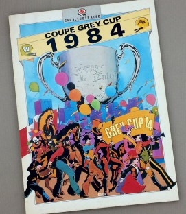 1984 Grey Cup Game Program