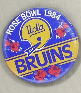 1984 UCLA Bruins Rose Bowl Button
