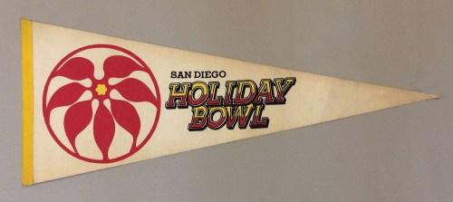 Holiday Bowl Pennant