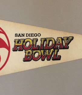 Holiday Bowl Pennant