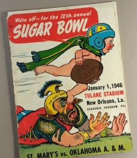 1946 Sugar Bowl Game Program