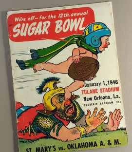 1946 Sugar Bowl Game Program