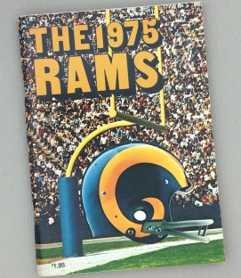 Los Angeles Rams 1975 Media Guide