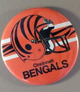Cincinnati Bengals Team Button