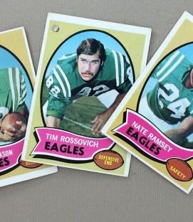 Philadelphia Eagles 1970 cards