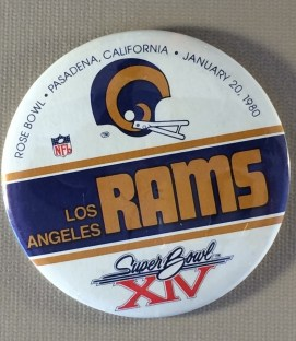 Super Bowl XIV Button