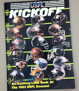 1983 LA Express vs Denver Gold Game Program