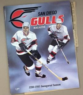 IHL San Diego Gulls Inaugural Program