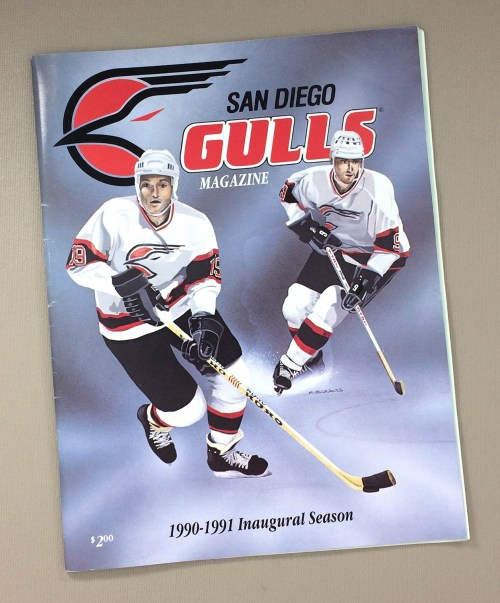 San Diego Gulls 1990-91 Program