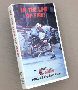 San Diego Gulls 1992-93 In The Line of Fire Video