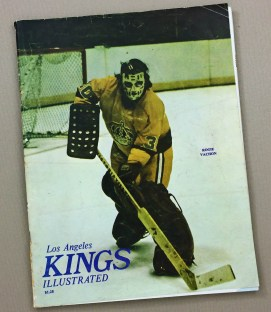1973 Los Angeles Kings Rangers Program