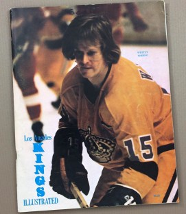 1974 Los Angeles Kings Hockey Program